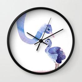 Fuzzy Love Wall Clock
