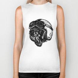 Baboon Mood Biker Tank