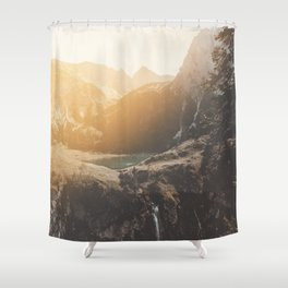 Is this real landscape photography Shower Curtain