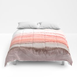 WITHIN THE TIDES CORAL DAWN Comforters