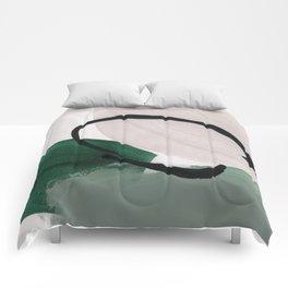 minimalist painting 01 Comforters