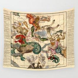 Globi Coelestis Plate 2 Wall Tapestry