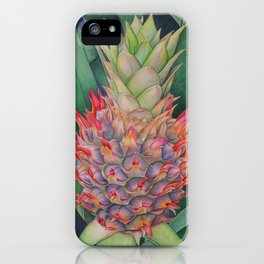 Ornamental Pineapple iPhone Case