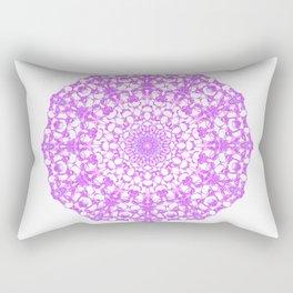 Mandala 12 / 4 eden spirit pink Rectangular Pillow