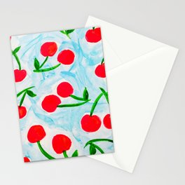 Cherries Stationery Cards