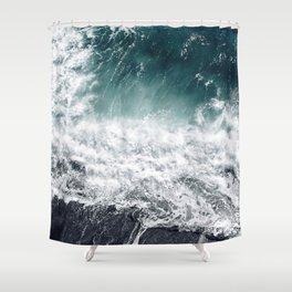 Cliff Life Shower Curtain