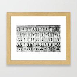 BROAD STREET. Framed Art Print