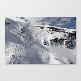 Ski Slopes Canvas Print