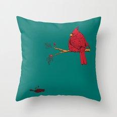 Cardinal Sin Throw Pillow