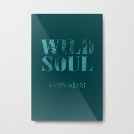 Wild Soul Metal Print