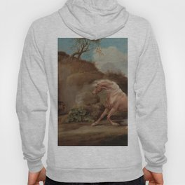 George Stubbs - Horse Frightened by a Lion Hoody