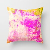 subaru Throw Pillows featuring GJ 504b by Fernando Vieira