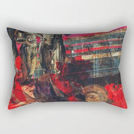 What's Wrong? Rectangular Pillow
