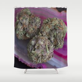 Grape Ape Medicinal Medical Marijuana Shower Curtain