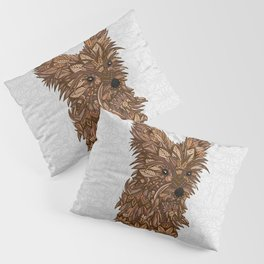 Cute Yorkie Pillow Sham