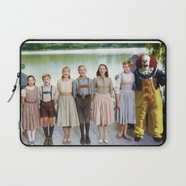 Pennywise in The Sound of Music Laptop Sleeve
