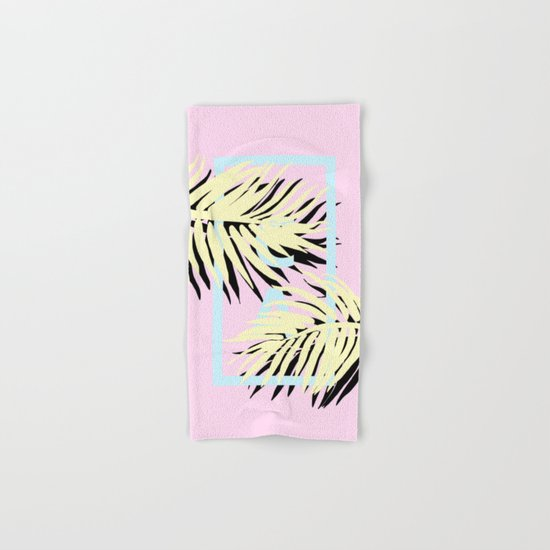 Cali pink Hand & Bath Towel