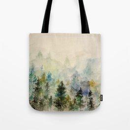 Through the Mist Tote Bag