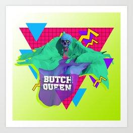 BQ Summer Vape Wave Art Print