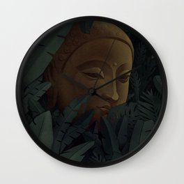 The Inner Buddha Wall Clock