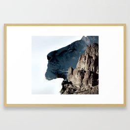Lyon King Framed Art Print