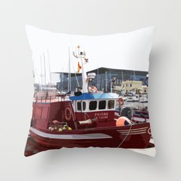 RRED Throw Pillow