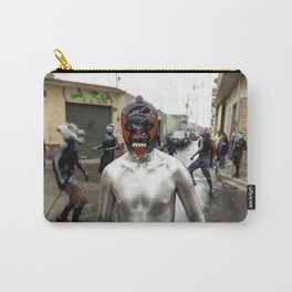 Lucha libre plateada Carry-All Pouch