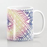illuminati Mugs featuring Native Illuminati by Uprise Art & Design