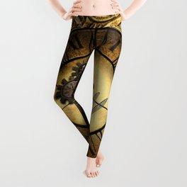 Steampunk design Leggings