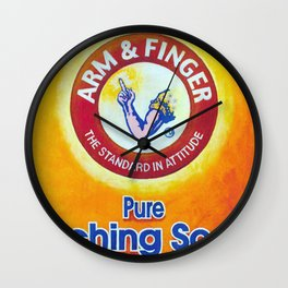 Arm & Finger Bitching Soda Wall Clock