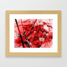 Red Passion  Framed Art Print