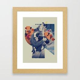 VI Framed Art Print