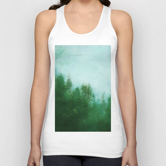 Dreamy Spring Forest Unisex Tank Top