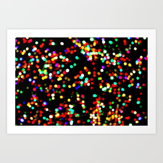 celebrate color Art Print