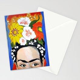 My Frida's Flowers Stationery Cards
