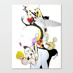 AROUND MY MIND Canvas Print