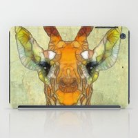 marley iPad Cases featuring abstract giraffe calf by Ancello