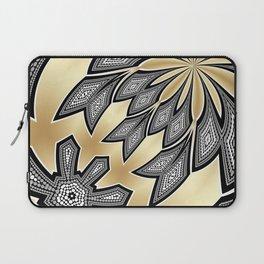 Pointillism Tribal fusion Laptop Sleeve