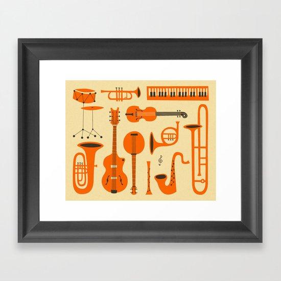 Just Jazz Framed Art Print