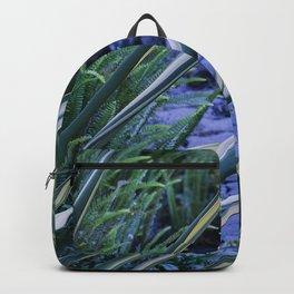 Tropical Leaf Swords Protecting Secret Pathway Backpack