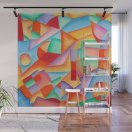 geometric abstract Wall Mural