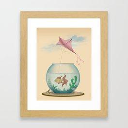 Big Dreams Framed Art Print