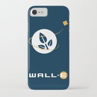 wall e iPhone & iPod Cases featuring Wall • E by Citron Vert