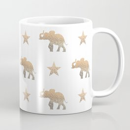 ELEPHANT & STARS Coffee Mug