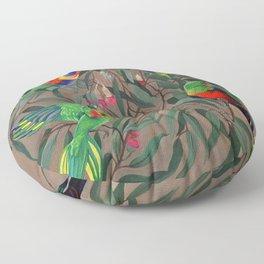Birds of Paradise. Floor Pillow