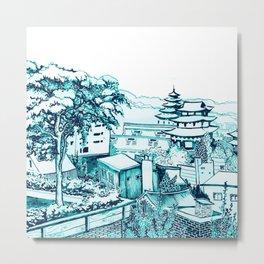 Samcheong dong  Metal Print