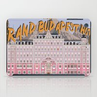 the grand budapest hotel iPad Cases featuring THE GRAND BUDAPEST HOTEL by Kaitlin Smith