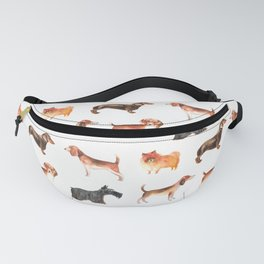 Dachshunds, terriers, Spitz -pom puppies Fanny Pack