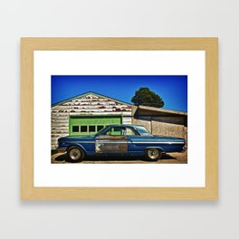 1966 Ford Fairlane Framed Art Print
