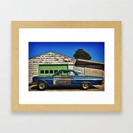 1966 Ford Fairlane Framed Art Print